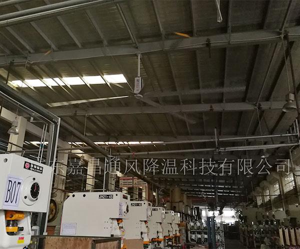 中山机械厂大ballbet网站安装案例